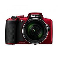 Цифровой фотоаппарат Nikon Coolpix B600 Red (VQA091EA)