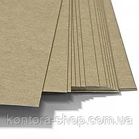 Обложки картонные А3 220 г/м2 крафт (100 штук), фото 2