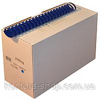Пружини пластикові 51 мм сині (50 штук), фото 2