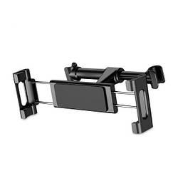 Тримач з затиском Baseus Back Seat Car Mount Holder Black (SUHZ-01)