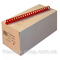 Пружини пластикові 22 мм червоні (50 штук), фото 2