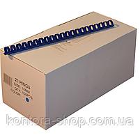 Пружины пластиковые 16 мм синие (100 штук), фото 2