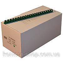 Пружины пластиковые 16 мм зеленые (100 штук), фото 2