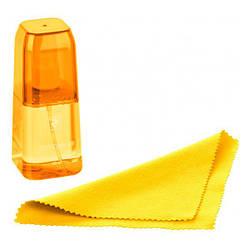 Набір для чищення 2E LUX CLEAN 100ml Liquid for LED/LCD + серветка Yellow (2E-SKTR100LYW)