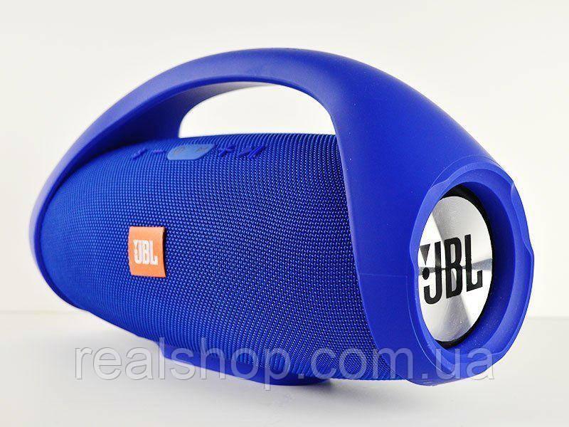 Колонка BOOMBOX (30см) Blue беспроводная Bluetooth портативная MP3 FM USB Speaker