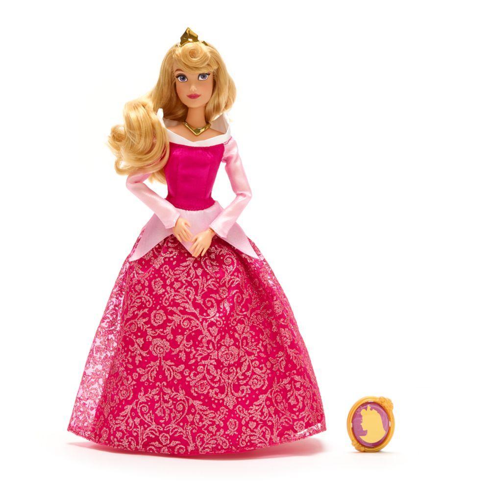 Лялька Принцеси Disney принцеса Аврора з кулоном Спляча Красуня Aurora Classic Doll with Pendant