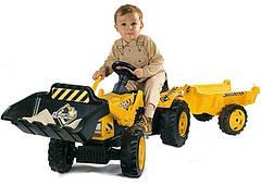Тракторы на педалях