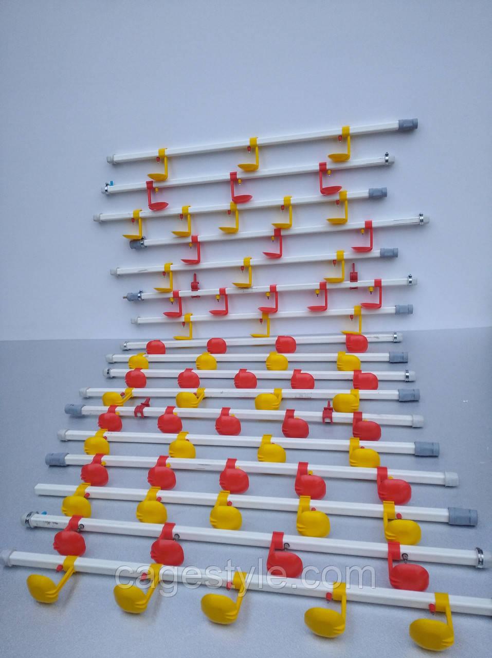 Ніпельні поїлки, системи ніпельного напування