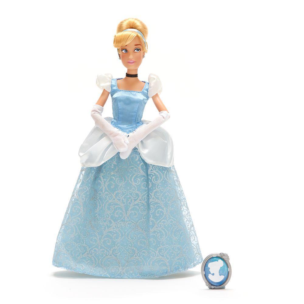 Кукла Cinderella Classic Золушка с кулоном Cinderella Classic Doll with Pendant