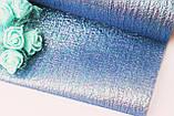 Фатин парча синий15см, фото 2