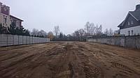 Вирівнювання ділянки під будівництво, фото 1