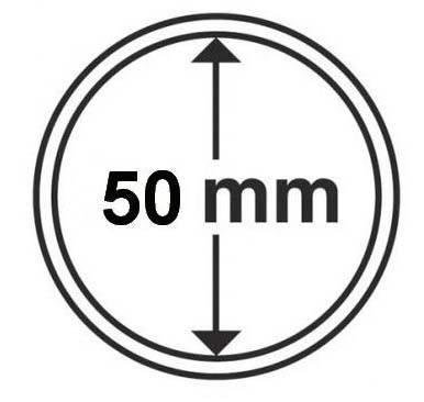 Капсула для монети НБУ 20 гривень діаметром 50 мм, фото 2