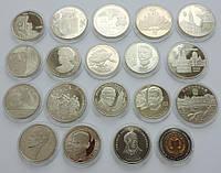 Годовая подборка 2008 года, все 19 монет ( все монети в капсулах )