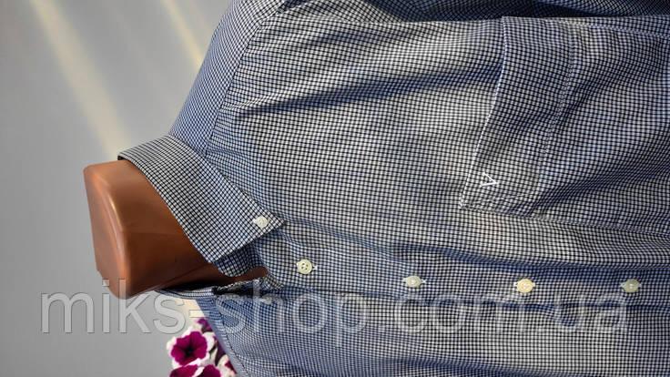 Сорочка чоловіча в клітку Розмір XL ( Я-194), фото 2