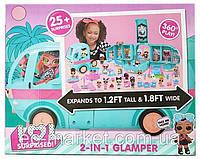 Wels Игровой набор автобус ЛОЛ l.o.l. surprise! гламурный кемпер