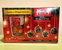 Чай Tess 4 вида с чашкой 100 пакетиков, фото 1