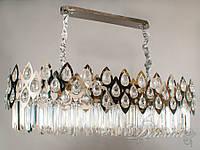 Хрустальная люстра овальной формы для гостиной 200803-900X400