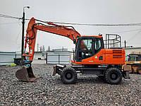 Услуги полноповоротного экскаватора Doosan DX140W, фото 1