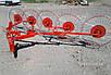 """Граблі """"Сонечко"""" на 5 коліс Akpil (посилені), фото 2"""