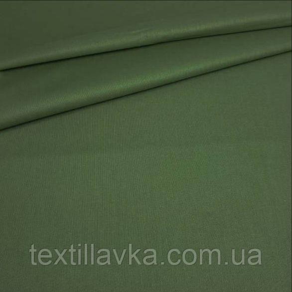 Ткань хлопок для рукоделия хаки