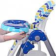 Стульчик для кормления Kronos Toys M 3233-9 Синий (int_M 3233-9), фото 7