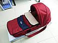 Люлька-переноска для новорожденного ребенка Chicco Sacca Transporter Красный (963976576), фото 3