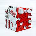 Busy Cube Красный с белым (hub_bVsC69415), фото 2