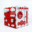 Busy Cube Красный с белым (hub_bVsC69415), фото 3