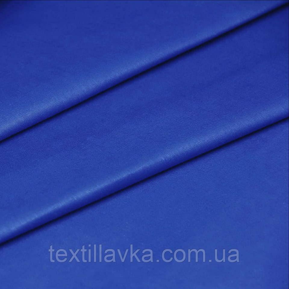 Тканина бавовна для рукоділля синя
