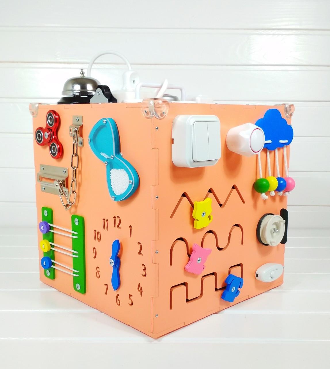 Развивающая игрушка Tornado Busy Cube Оранжевая (hub_jJMC23162)