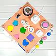 Развивающая игрушка Tornado Busy Cube Оранжевая (hub_jJMC23162), фото 5