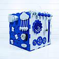 Развивающая игрушка Tornado Busy Cube Бело-синяя (hub_cqND66022), фото 2