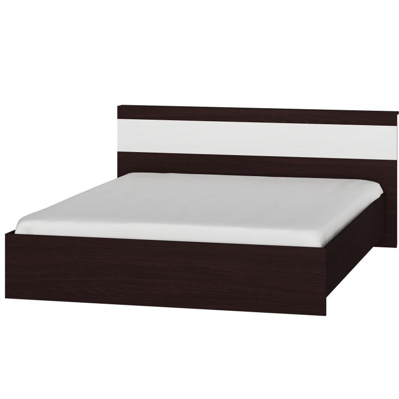 Кровать Эверест Соната 1600 2110х1730х800 Венге / белый