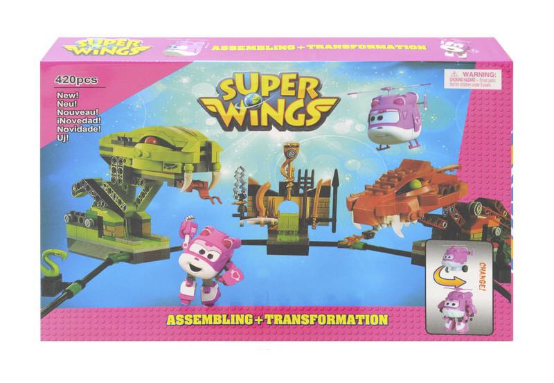 Конструктор Super Wings 420 дет MIC (16115)