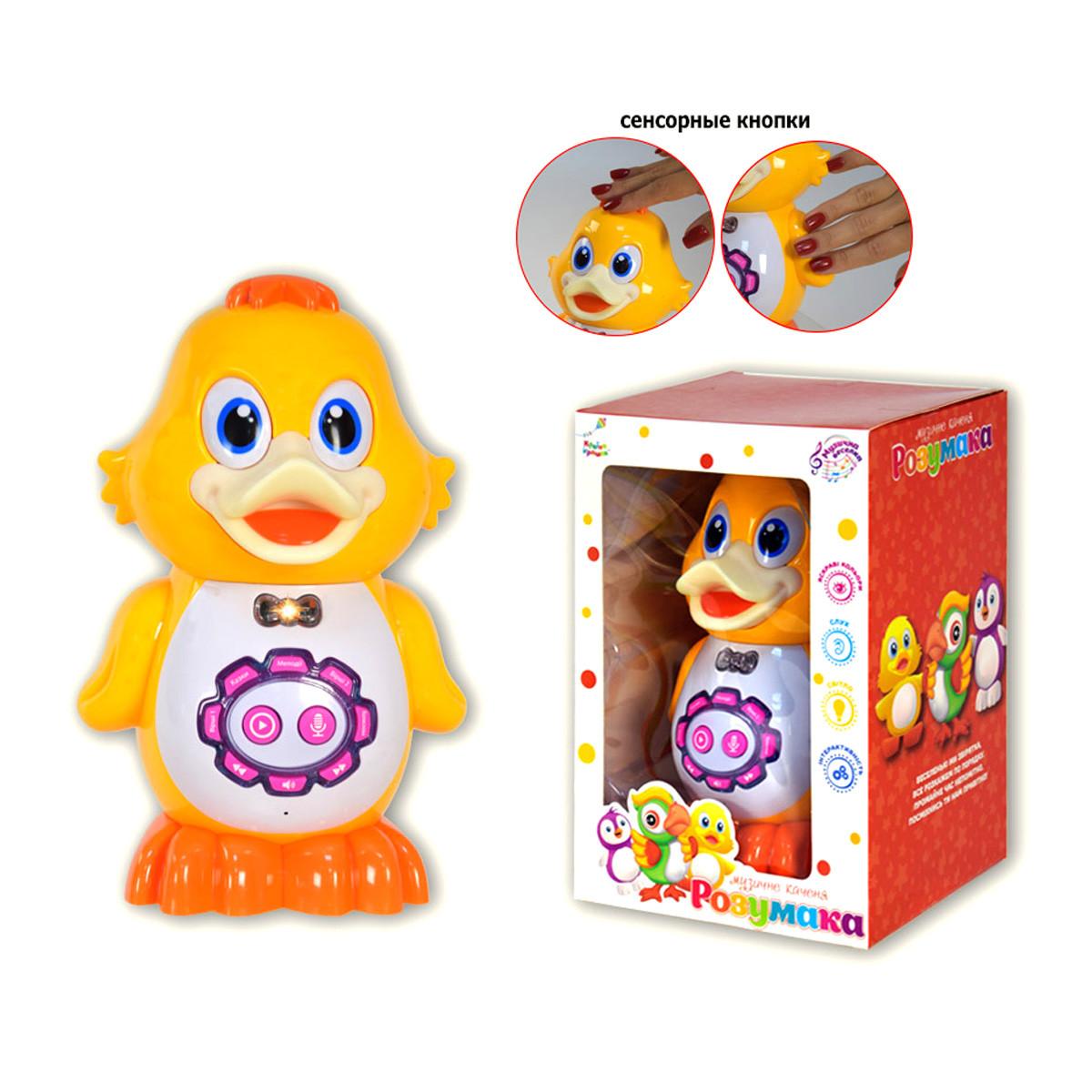 Интерактивная игрушка Утенок укр MiC (KI-7065)
