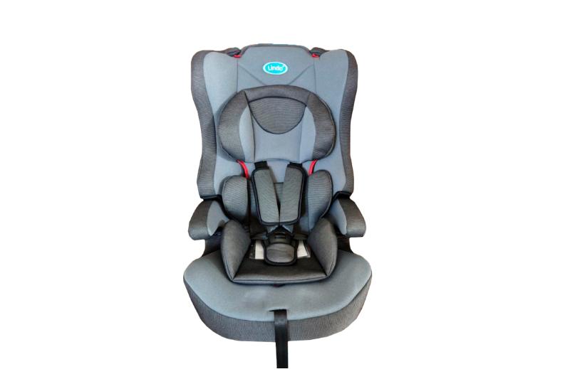 Детское автомобильное кресло 2 в 1 ТМ LINDO Серый HB 616 (HB 616 сірий)