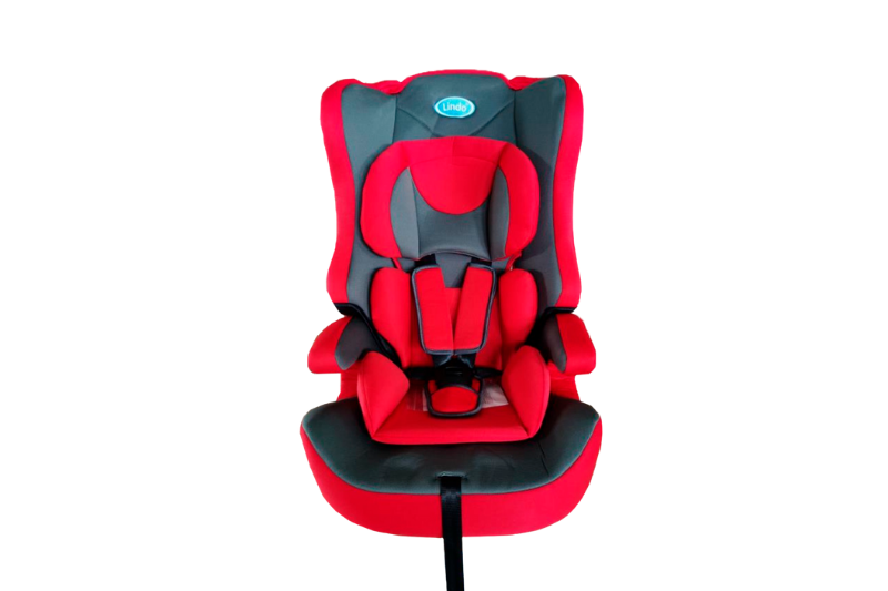 Детское автомобильное кресло 2 в 1 ТМ LINDO Красный HB 616 (HB 616 черв)