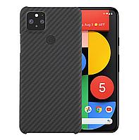 Карбоновый чехол для Google Pixel 5 Karbon case, фото 1