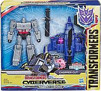 Трансформер Мегатрон из серии Кибервселенная Transformers Toys Cyberverse Spark Armor Megatron Action Figure
