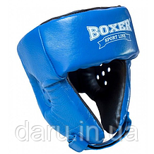 Шолом боксерський (L ) кожвініл Boxer Sport Line