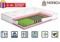 Матрац Моніка 21см 190*120 (Multi Pocket 3+кокос) Monika серія Home, фото 1