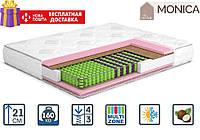 Матрац Моніка 21см 190*140 (Multi Pocket 3+кокос) Monika серія Home, фото 1