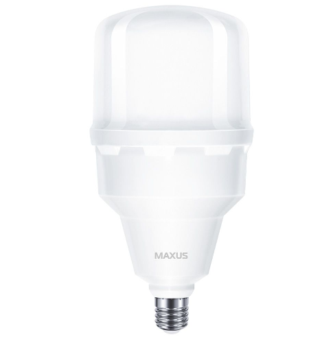Лампа потужна MAXUS світлодіодна HW 50W 5000K E27/E40