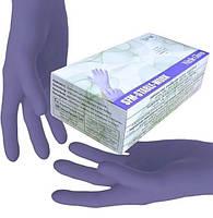Нитриловые перчатки SFM двойная упаковка р.S 200 шт Фиолетовые (MAS40113)