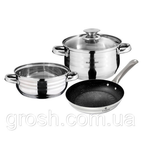 Набор посуды из нержавеющей стали Blaumann Gourmet Line BL 3178 (4 пр.)