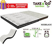 Матрас NeoBlack 16см 90*190 Take&Go Bamboo ЕММ Нео Блэк, фото 1