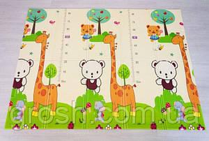 Дитячий килимок зростомір 150*180 односторонній