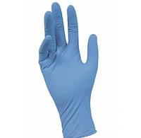 Перчатки нитриловые Medicom L неопудренные текстурированные 50 пар Голубые (MAS40034)