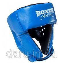 Шолом карате (M) кожвініл Boxer Sport Line