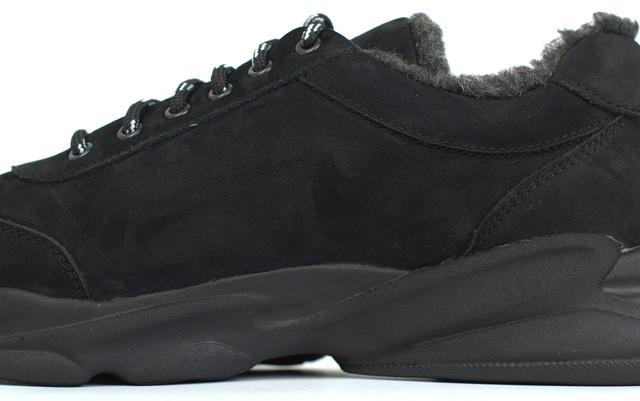 Кроссовки зимние на меху теплые мягкие нубук мужская обувь больших размеров Rosso Avangard Winter Ada NUB BS